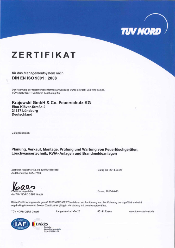 Qualitätsmanagement DIN EN ISO 9001:2008